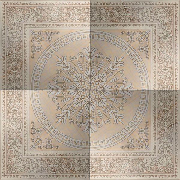 Керамический декор El Molino Opalo Beige Plus Rosone 118x118см стоимость