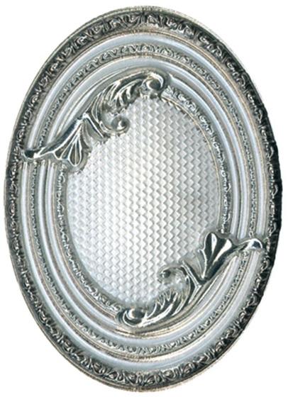 Керамический декор El Molino Excelsior Plata-Blanco Medallon 10x14см