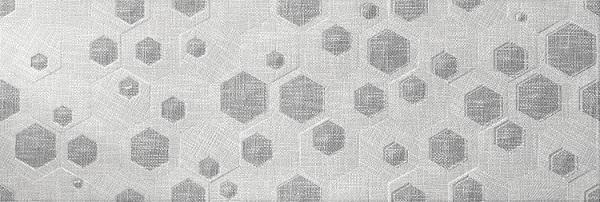 цена на Керамическая плитка El Molino Hermes Geo Decor Gris настенная 30x90см