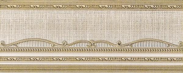 Бордюр El Molino Hermes Oro-Bone Zocalo 12x30см