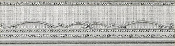 Бордюр El Molino Hermes Plata-Perla Cenefa 8x30см