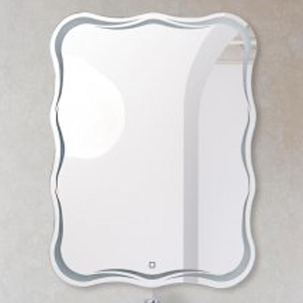 Зеркало BelBagno SPC-OND 60 с сенсорным выключателем с подсветкой зеркало edelform fancy led 80 с подсветкой с сенсорным выключателем