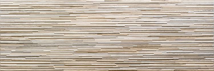 Керамическая плитка El Molino Layers Beige настенная 30x90см