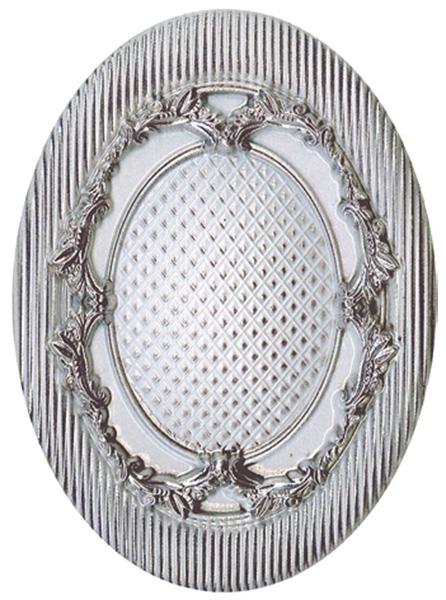 купить Керамический декор El Molino Levante Siros Plata-Perla Medallon 10x14см дешево