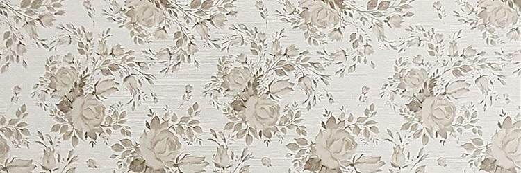 Керамическая плитка El Molino Venecia Floral Decor Beige настенная 25x75см