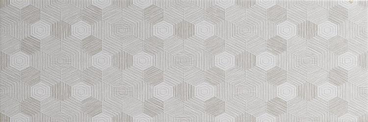 Керамическая плитка El Molino Venecia Geo Decor Gris настенная 25x75см