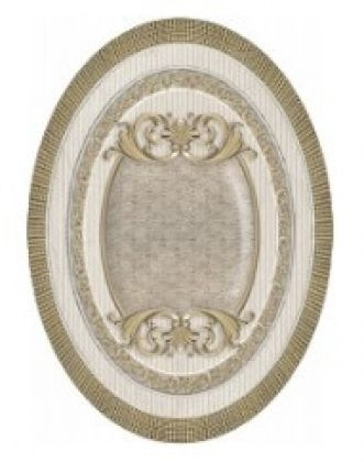 Керамический декор El Molino Venecia Oro-Beige Medallon 10x14см