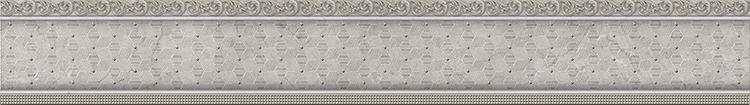 Бордюр El Molino Venecia Plata-Gris Moldura 3,5x25см керамическая плитка el molino hannover cen base plata рerla 8х25 бордюр