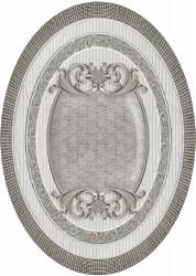 Керамический декор El Molino Venecia Plata-Gris Medallon 10x14см
