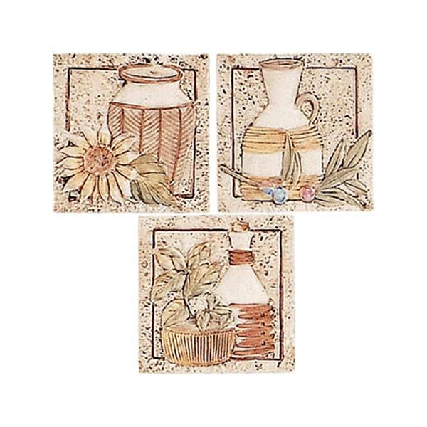 Керамический декор Alta Ceramica Brocca Inserto 10х10 см стеклянная вставка ceramica classic мармара пальмира комплект серый 3шт компл 5 5х16 5 см