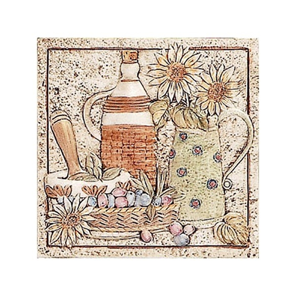 Керамический декор Alta Ceramica Corte Brocca 20х20 см стоимость