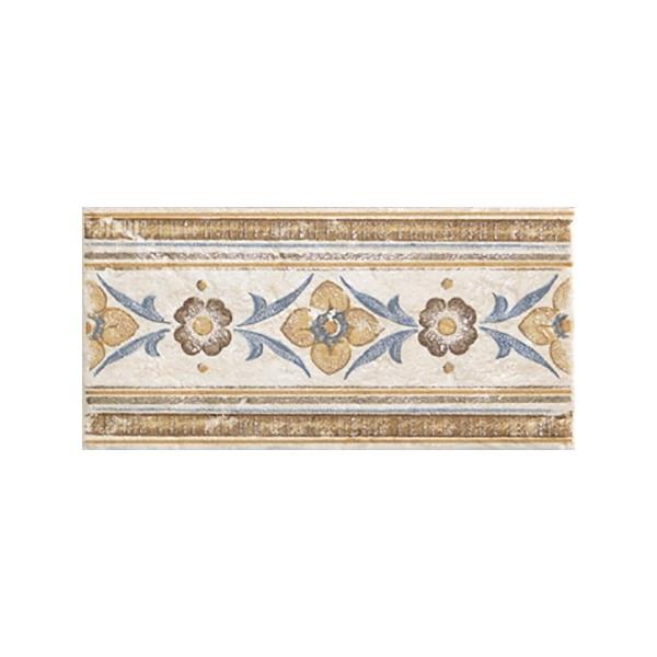 Керамический бордюр Alta Ceramica Castelli Listello Florentia 10х20 см керамическая мозаика alta ceramica castelli lux 30х30 см