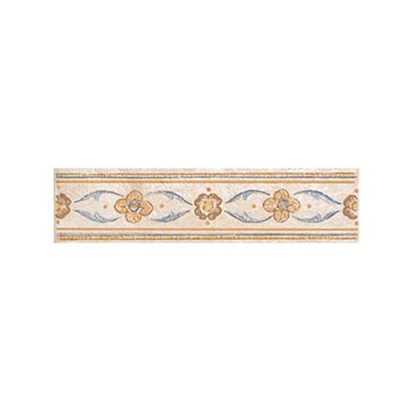 Керамический бордюр Alta Ceramica Castelli Listello Florentia 5х20 см керамическая мозаика alta ceramica castelli lux 30х30 см