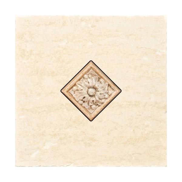 Керамический декор Alta Ceramica Castelli Ins Idro Canossa Lux F 20х20 см керамическая мозаика alta ceramica castelli lux 30х30 см