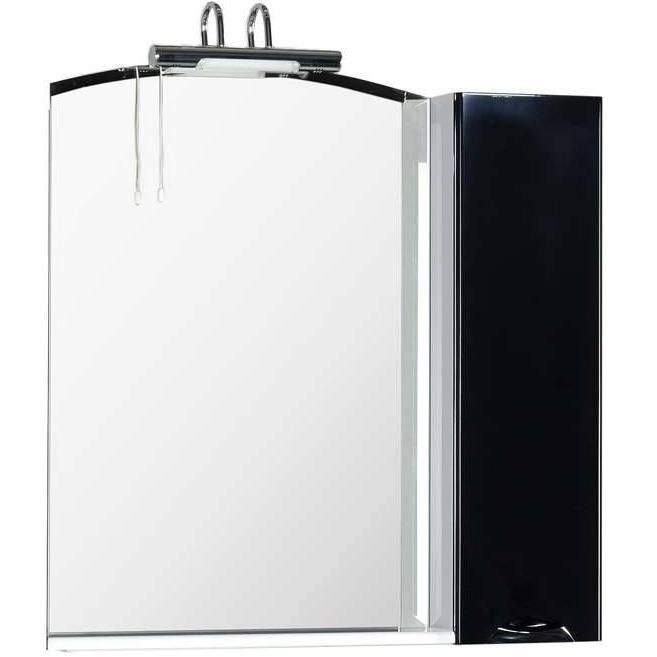 Зеркало Aquanet Асти 85 178244 Черное Белое
