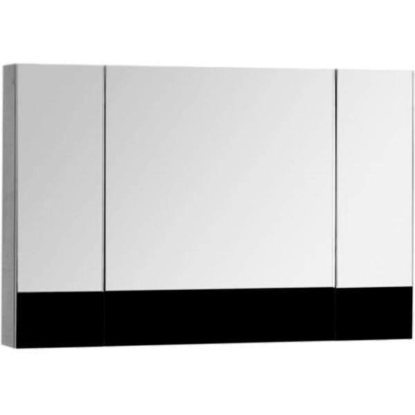 Зеркальный шкаф Aquanet Верона 100 175386 Черный