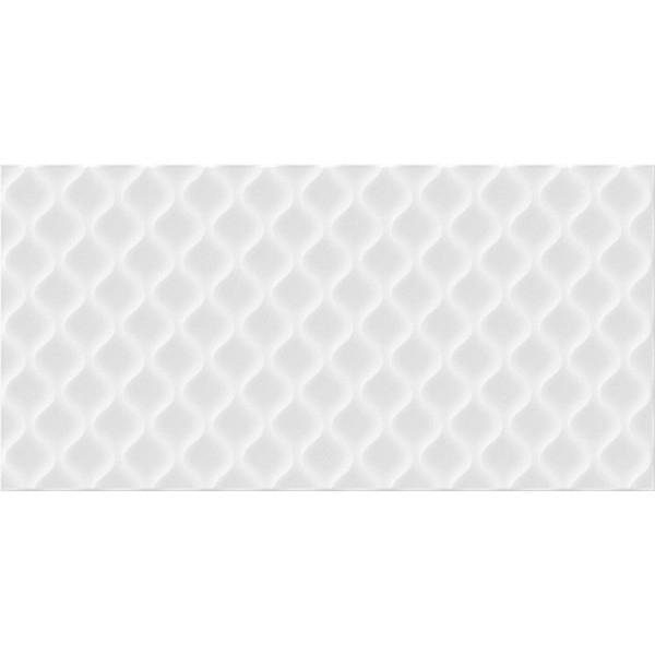 Керамическая плитка Cersanit Deco рельеф белый DEL052D настенная 29,8x59,8 см стоимость