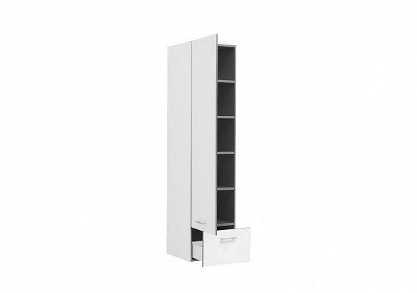 Шкаф пенал Aquanet Верона 40 176672 подвесной R Белый пенал подвесной черный aquanet верона 00175391