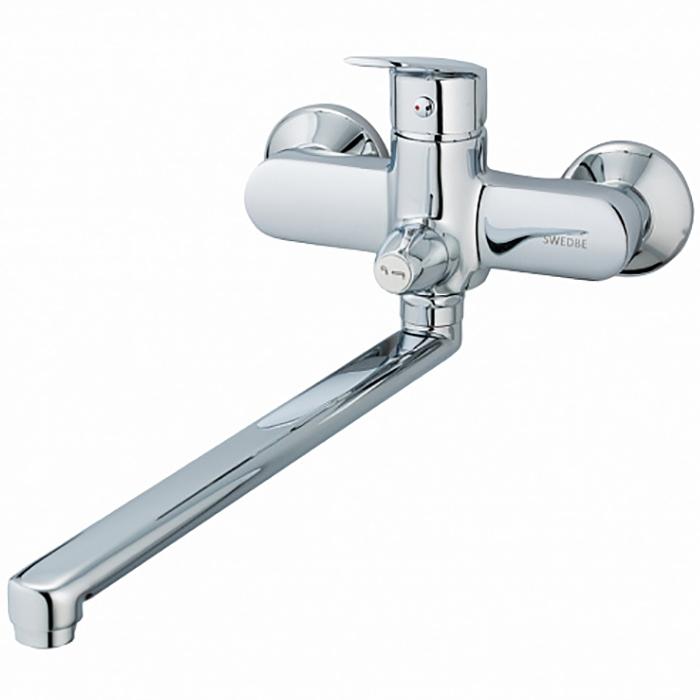 Смеситель для ванны Swedbe Ares 1950 универсальный Хром смеситель для ванны swedbe saturn 1430 хром