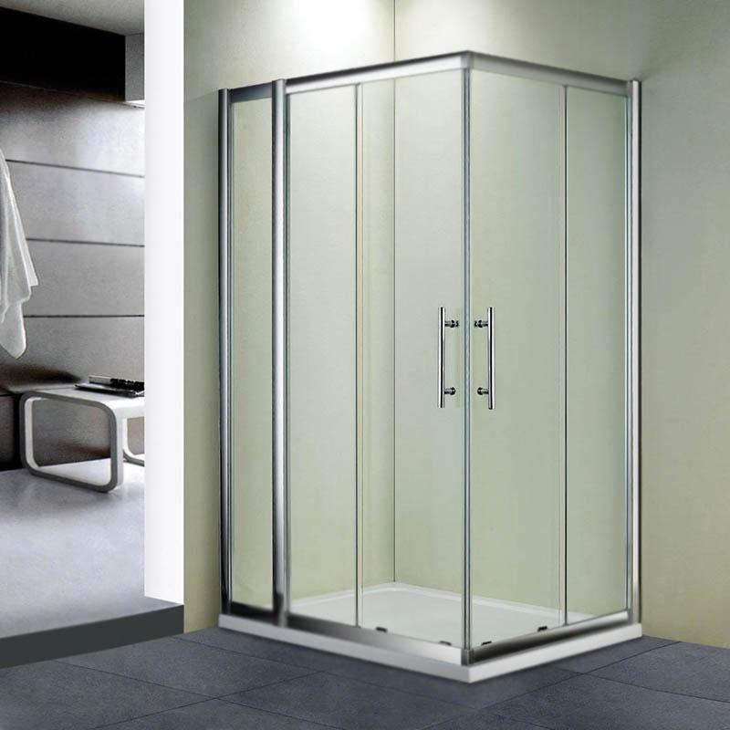 Душевой уголок RGW Hotel HO-42 90x120 профиль Хром стекло прозрачное