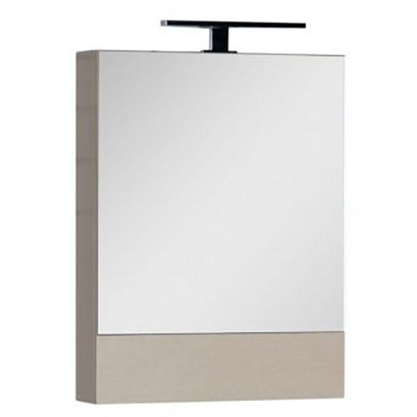 Зеркальный шкаф Aquanet Гретта 50 172681 L Дуб светлый