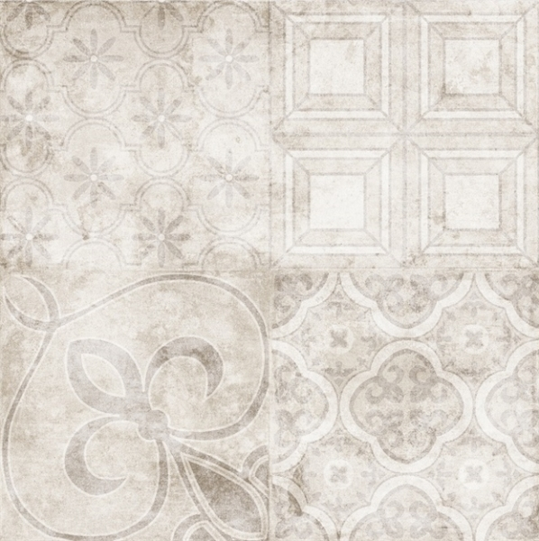 Керамогранит Emotion Ceramics Hidraulicos Emotions Stark Precorte Beige 45x45см tatkraft прищепки клипсы для полотенец artmoon stark beige 5 шт m1ngyeu
