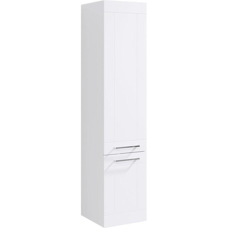 Шкаф пенал Aqwella Манчестер 35 MAN0535 Белый шкаф пенал bellezza рокко 35 подвесной красный белый