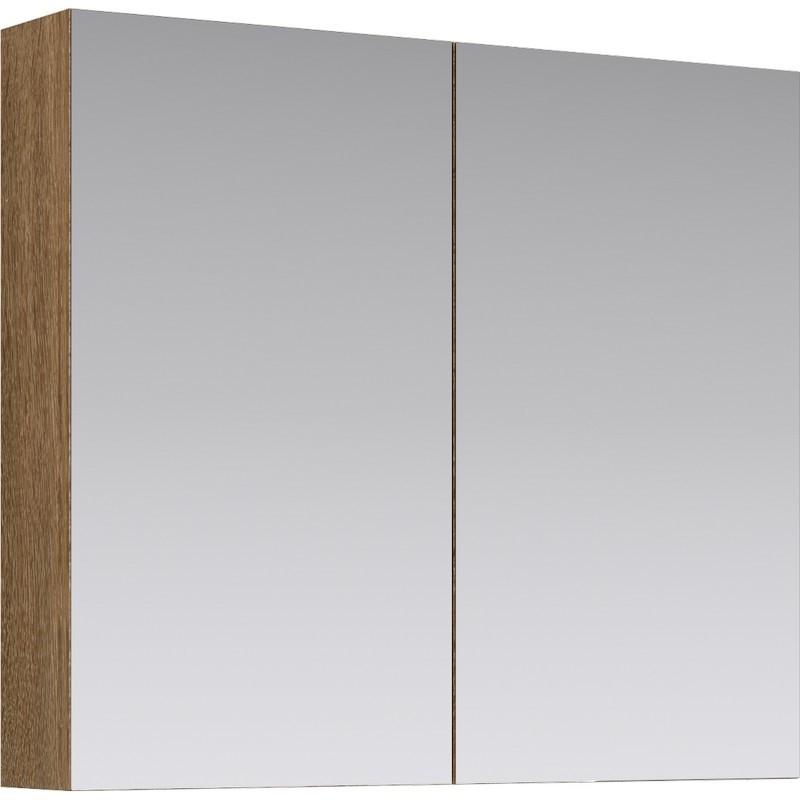 цена на Зеркальный шкаф Aqwella МС 80 МС.04.08/DS Дуб сонома