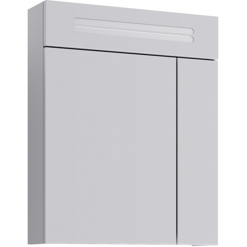 Зеркальный шкаф Aqwella Нео 60 Neo.04.06 с подсветкой Белый цены