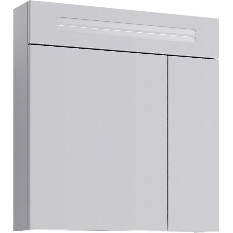 Зеркальный шкаф Aqwella Нео 70 Neo.04.07 с подсветкой Белый