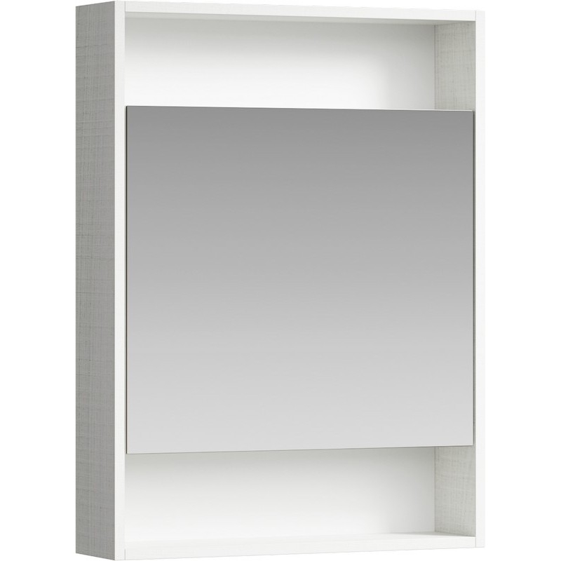 Зеркальный шкаф Aqwella Сити 60 SIT0406DK Дуб канадский