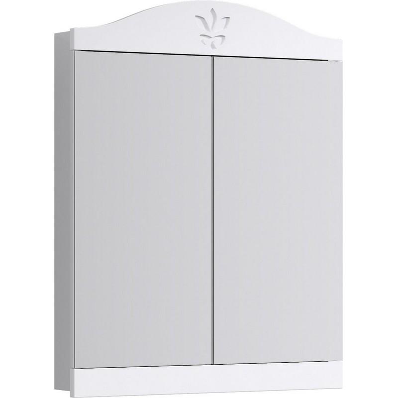 Зеркальный шкаф Aqwella Франческа 65 FR0406 Белый