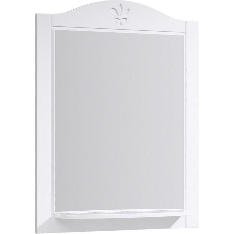 Зеркало Aqwella Франческа 75 FR0207 Белое зеркало aqwella franchesca fr0207