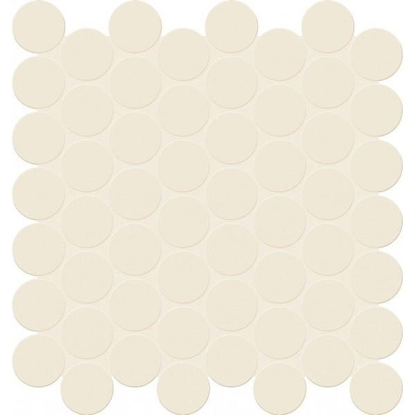 цена Керамическая мозаика Marca Corona Bold E984 White Tessere Round 28,8х29 см онлайн в 2017 году