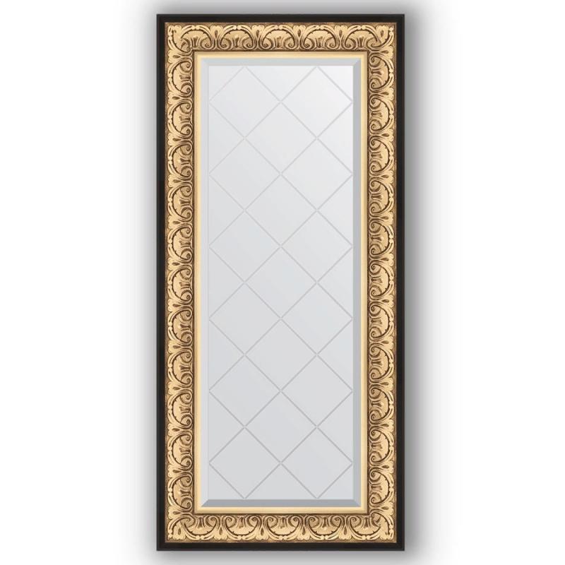 Зеркало Evoform Exclusive-G 130х60 Виньетка античная бронза зеркало evoform exclusive 135х55 виньетка античная бронза