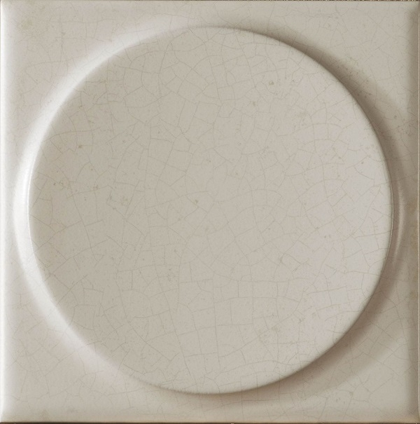 Керамическая плитка Mayolica Vintage Paris Moon Crema настенная 20x20см