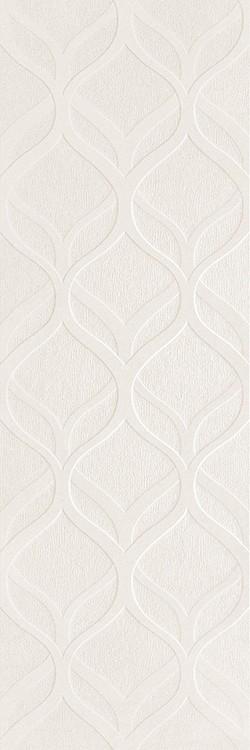 Керамическая плитка Newker Elite Decor White настенная 30x90см керамическая плитка newker elite line white настенная 30x90см