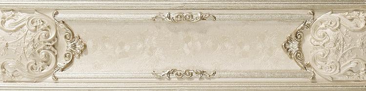 Бордюр Newker Marbeline Empire Cream Listello 9,5x40см