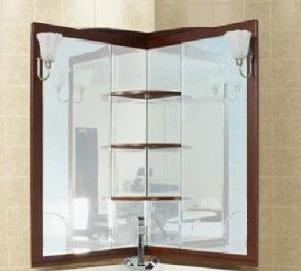 Зеркало Aquanet Луис 70 171917 Темный орех