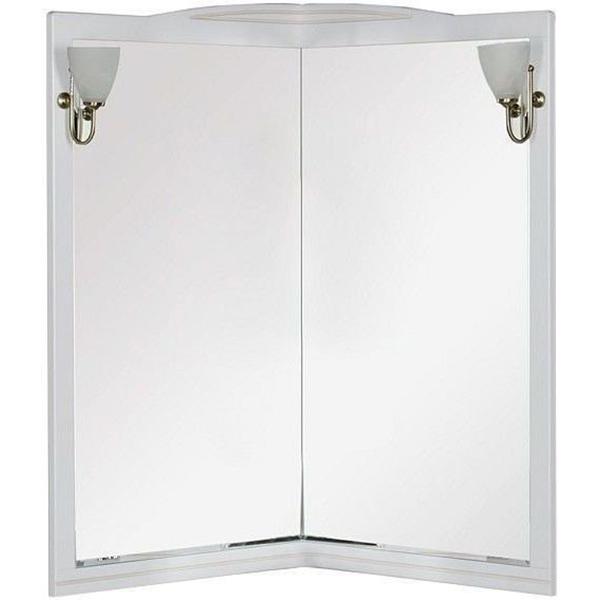 Зеркало Aquanet Луис 70 171916 Белое зеркало aquanet луис 90 173219 бежевое