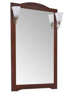 Зеркало Aquanet Луис 70 173215 Темный орех раковина aquanet луис 176639