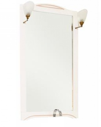 Зеркало Aquanet Луис 70 173214 Белое раковина aquanet луис 176639