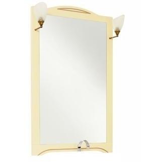 Зеркало Aquanet Луис 80 173216 Бежевое раковина aquanet луис 176639