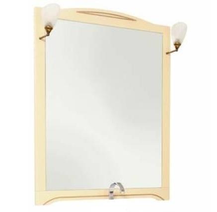 Зеркало Aquanet Луис 90 173219 Бежевое раковина aquanet луис 176639