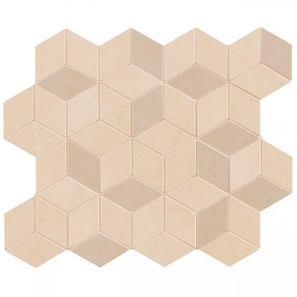 Керамическая мозаика Marca Corona Delux Beige Tessere Rombi 26х28 см керамическая мозаика marca corona delux grey tessere rombi 26х28 см
