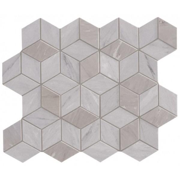 цена Керамическая мозаика Marca Corona Delux Grey Tessere Rombi 26х28 см онлайн в 2017 году