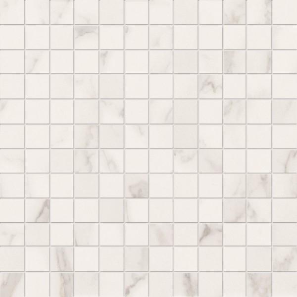 цена Керамическая мозаика Marca Corona Delux White Tessere Riv 30,5х30,5 см онлайн в 2017 году