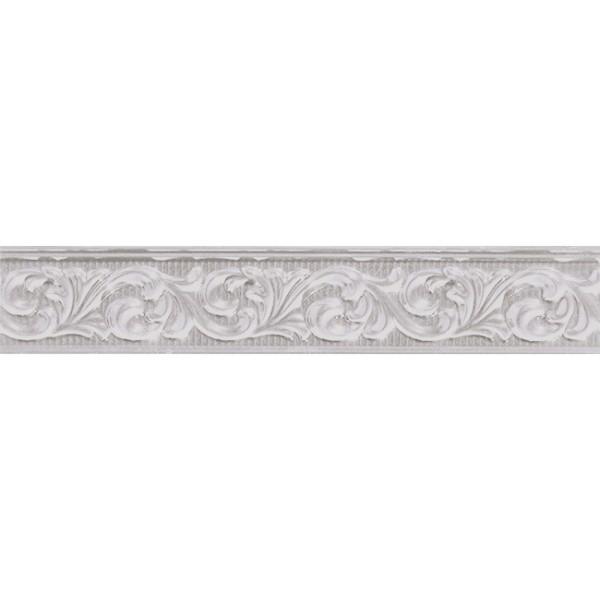Керамический бордюр Marca Corona Delux Grey Fregio 6х30,5 см