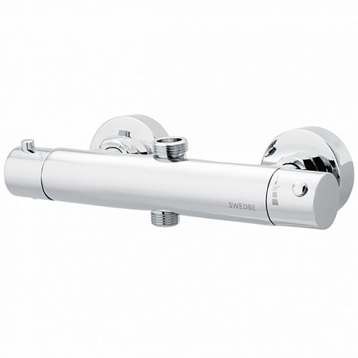 Смеситель для душа Swedbe Hermes 9021 с термостатом Хром смеситель для ванны swedbe mercury 9060 с термостатом хром