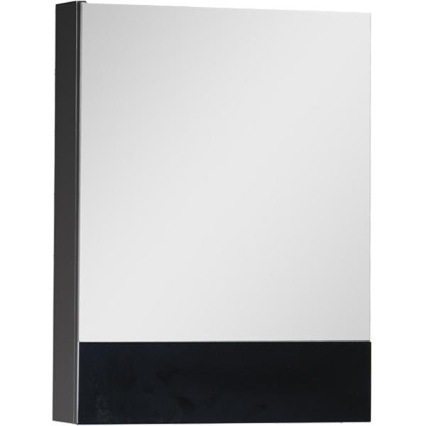 Зеркальный шкаф Aquanet Нота 50 176947 L Черный
